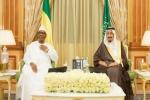 خادم الحرمين يعقد جلسة مباحثات رسمية مع رئيس مالي