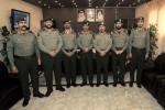 مدير جوازات منطقة الجوف يقلد عدد من الضباط رتبهم الجديدة