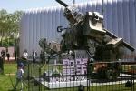 """الصين تستعرض """"روبوتا قتاليا"""" عملاقا"""