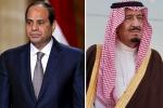 خادم الحرمين الشريفين يجري اتصالاً هاتفيًّا برئيس جمهورية مصر