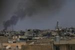 قوات الحشد الشعبي العراقية المدعومة من إيران تتقدم صوب حدود سوريا