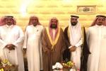 الشيخ الدكتور سعيد بن مسفر في ضيافة رجل الأعمال مساعد مطيله الورده