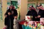 مدرسة عبدالله بن عباس الإبتدائية بالقريات تحتفي بالطلاب المتميزين في الفصول العلاجية