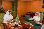 نائب أمير الجوف يستعرض جهود فرع وزارة التجارة بالمنطقة