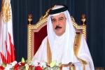 ملك البحرين يتسلم رسالة من أمير دولة الكويت