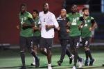 لاعبو الأخضر يتدربون في بريزبن في آخر مراحل إعدادهم لكأس آسيا