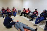 دورة البروتوكولات والخدمات الطبية الطارئة لمنسوبي الهلال الأحمر بالجوف
