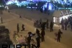فيديو: حصان هائج يدهس 3 سيدات في روسيا