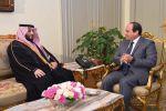 الرئيس المصري يستقبل تركي آل الشيخ
