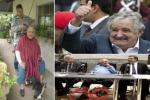 """أوقف سيارة لتوصيلة مجانية فاكتشف أن السائق """"رئيس أوروجواي"""" ومعه زوجته"""