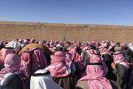 """محافظة طريف تُشيّٓع أحد أشهر أبنائها """"شبيح ناجح ابوريشه الشراري"""""""