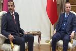 """بالفيديو.. """"تميم المرتعش"""" يتسول الأمان في حضرة أردوغان"""