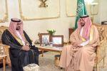 الأمير فيصل بن خالد بن سلطان  يلتقي مدير مكتب الخطوط السعودية بمنطقتي الجوف والحدود الشمالية