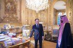الرئيس الفرنسي يتلقى دعوة من خادم الحرمين لزيارة المملكة.. ويقيم مأدبة عشاء تكريماً لولي العهد