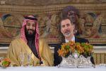 ملك إسبانيا يقيم مأدبة غداء تكريمًا لسمو ولي العهد