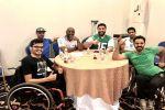 فن التحفيز الذاتي للاعبي المنتخب السعودي لكرة السلة على الكراسي