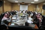 """بلدية القريات تعقد اجتماع بمدراء الادارات والأقسام لشرح لائحة """" تحصيل الديون"""
