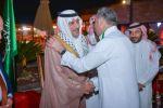 سفير المملكة لدى الاردن يودع ضيوف خادم الحرمين الشريفين الحجاج الفلسطينيين من ذوي الشهداء.
