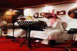"""المشرف العام على """"صالون الرياض"""" الفنان خالد عبدالرحيم يستضيف  أعضاء  الصالون  بمناسبة عيد الأضحى"""