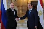 السيسي: اتفاق مع روسيا لإقامة محطة نووية بمصر