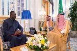 خادم الحرمين الشريفين يتسلم رسالة خطية من رئيس جمهورية جامبيا