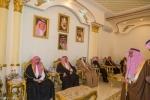 وفد جامعة الملك سعود وآل الشيخ في زيارة الدعيجاء