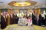 نائب أمير الجوف يستقبل أمين وأعضاء مجلس المنطقة