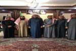 إدارة ميدان الفروسية بالقريات تزور رجل الأعمال محمد شاهي الرويلي وتلتقي محافظ طريف