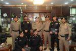 مدير شرطة منطقة الجوف يكرم عددا من ضباط وصف الضباط والجنود بشرطة المنطقة وإدارة دوريات الأمن