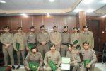 نائب مدير شرطة منطقة الجوف يكرم عدداً من صف ضباط وجنود شرطة المنطقة لتميزهم بعملهم