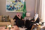 أمير الجوف يناقش مشاريع الطرق والنقل والرحلات الجوية مع وزير النقل