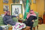 الأمير عبد العزيز بن فهد بن تركي يستقبل مدير جامعة الجوف ويطلع على دراسة الجدوى من زراعة الزيتون