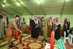 أمير منطقة الجوف يقوم بزيارة جناح مديرية الدفاع المدني بمهرجان تمور الجوف السادس