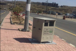 مكة: القبض على ثلاثة شبان حطموا صندوق ساهر