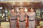 مدير شرطة منطقة الجوف يقلد  المقدم جمال بن محمد الشمدين رتبته الجديدة