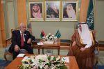 """""""العساف"""" يستقبل وزيري الخارجية الليبي والتونسي"""