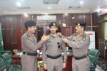 ترقية عددا من ضباط شرطة منطقة الجوف الى رتبة ملازم أول