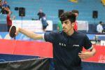 لاعب المنتخب السعودي لكرة الطاولة يفوز على لاعبي السويد وتونس في بطولة المغرب الدولية
