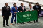 ثلاث ميداليات حصيلة الأخضر السعودي للجوجيتسو في بطولة غراند سلام