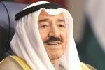 أمير الكويت يبحث في بغداد التوتر بين واشنطن وطهران