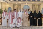 أمير الجوف يستقبل رئيس وأعضاء جمعية أصدقاء العمل التطوعي