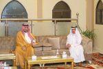 نائب أمير منطقة الجوف يعزي أسرة النصيري في وفاة والدتهم