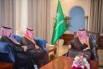 أمير الجوف يستقبل مدير هيئة الأرصاد ويدشن مؤشر جودة الهواء