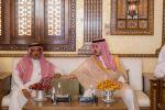 أمير الجوف يعزي بوفاة رجل الأعمال مفضي مرزوق