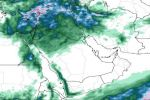 حالة مطرية من يوم الأربعاء القادم على منطقة الجوف وحائل وتبوك والحدود الشمالية