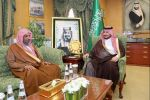 نائب أمير الجوف يستقبل مدير فرع الإفتاء بالمنطقة