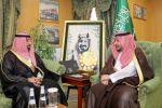 نائب أمير الجوف يستقبل مدير الهلال الأحمر المعيًن حديثاً بالمنطقة