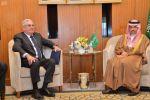 وزير الخارجية يستقبل مساعد وزير الخارجية الأمريكي لشؤون الخليج العربي