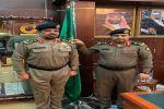 مدير شرطة منطقة الجوف يقلد العميد امين الهذيل رتبته الجديدة
