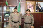 مدير شرطة منطقة الجوف يقلد العميد محمد محسن الرويلي رتبته الجديدة